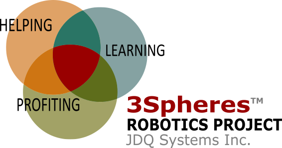 3Spheres Robotic Logo